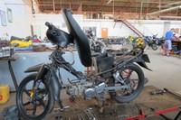 Stripped bike