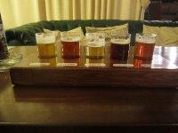 Last night's beer tasting forgotten