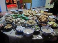 Kazakh tea table