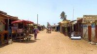 Typical village market