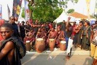 Funeral drummers