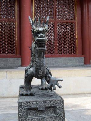 Dragon Statue at Confucius Temple