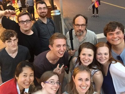 Another group selfie with the selfie stick
