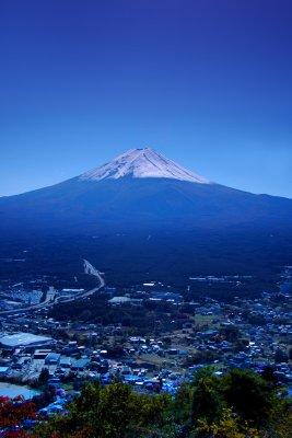 Mt. Fuji from Kawaguchiko, Oct 2007
