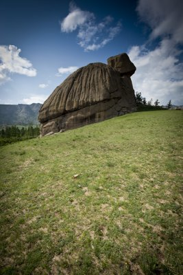 Turtle Rock, Terelj national park, Mongolia