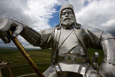 Genghis Khan statue, Mongolia