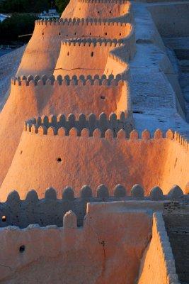 City wall, Khiva