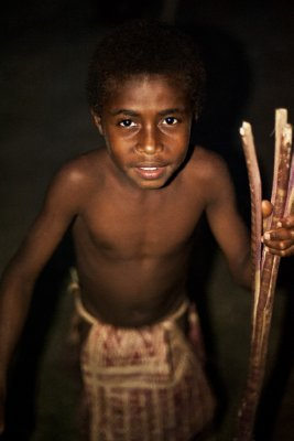 Local boy, Pentecost Island