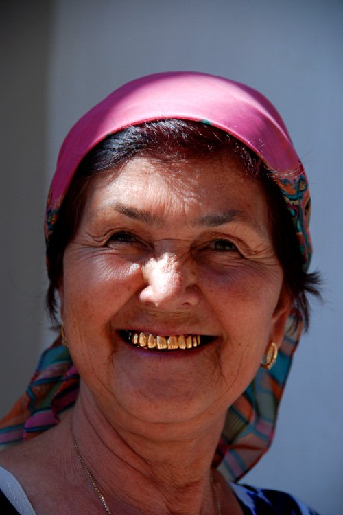 Local woman, Khiva