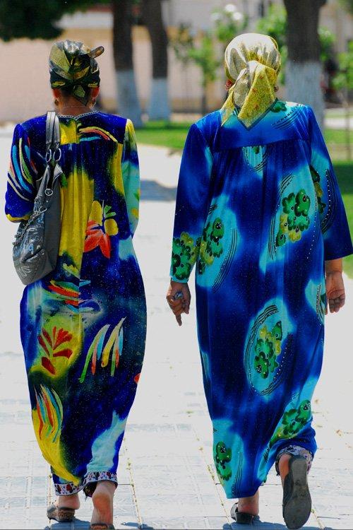 Local women, Samarkand