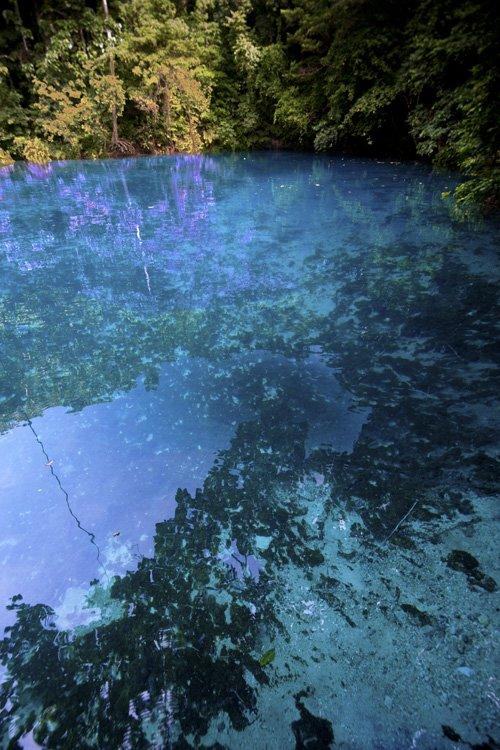 Blue hole, Santo Island