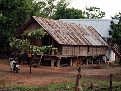 Traditional Vietnamese Longhouse