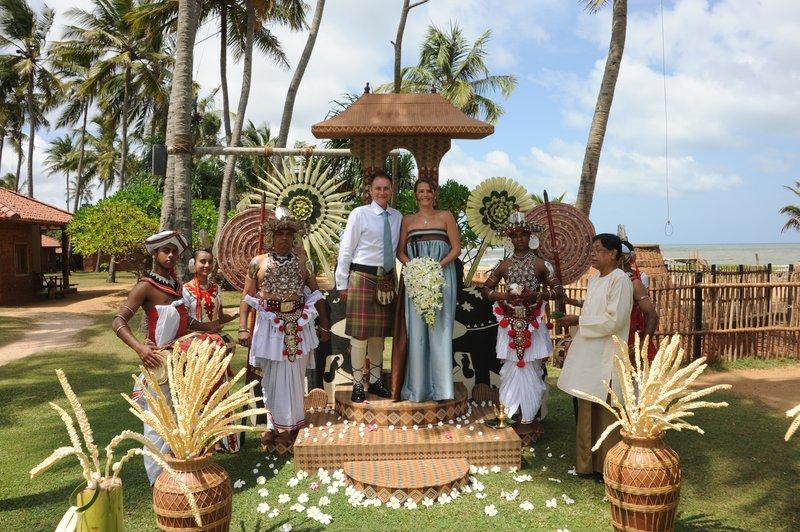 Wedding in Sri Lanka