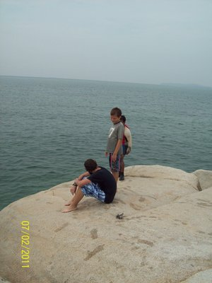 Contemplating the Jump - Cherating, Malaysia