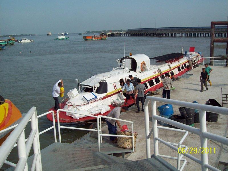 Transportation to Pulau Ketam, Malaysia