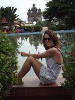Laos' Arc De Triomphe