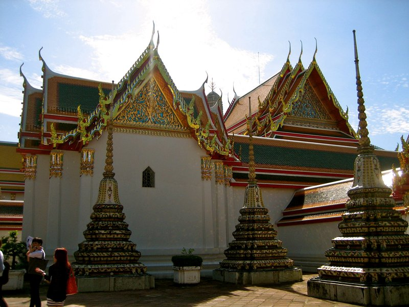 Inside one of these buildings is the official school of Thai massage! Thai traditional massage is one of the fundamentals of Thai traditional medicine.