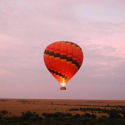 Balloon ride over Masai Mara