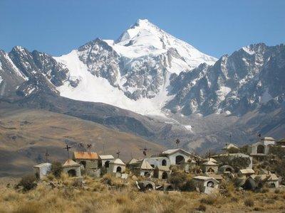 Mountain village...