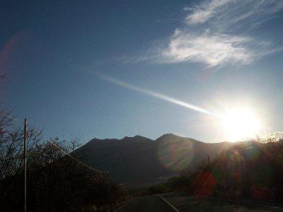 Volcán Ipala sunset