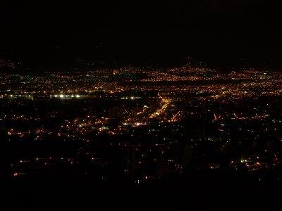 Guatemala City night view
