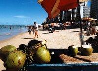 Recife's beach Brazil.