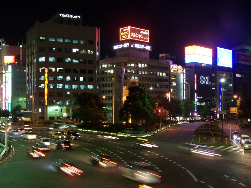 Umeda at night