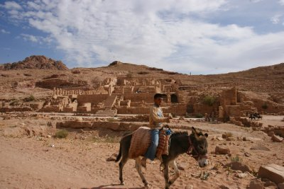 Local boy in Petra