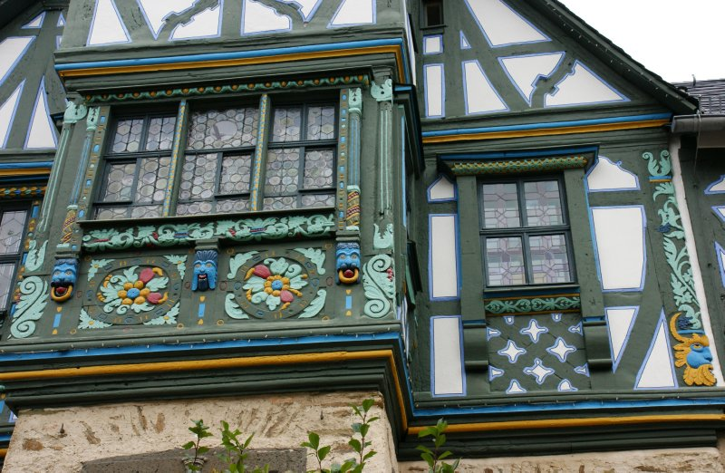 Beautifully decorated house in the historical part of Idstein, Germany