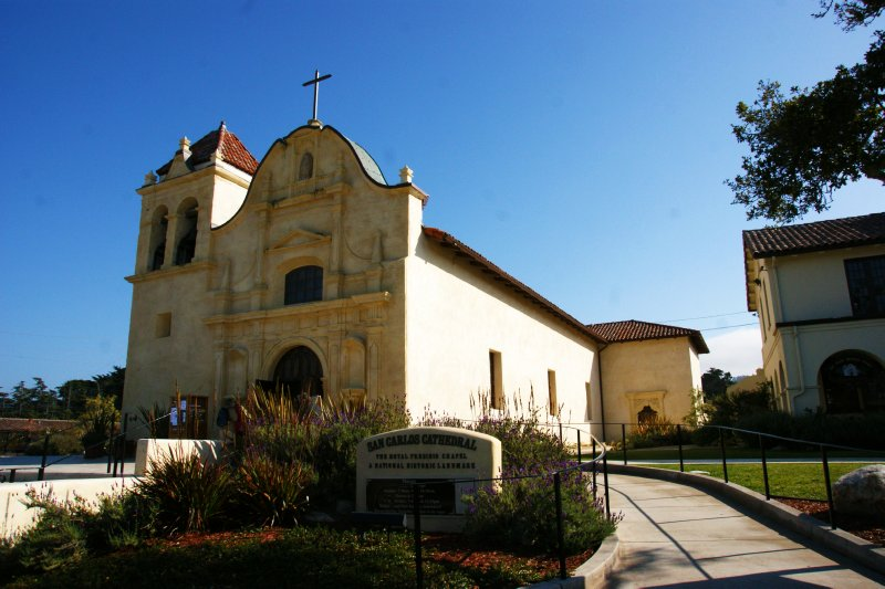 San Carlos church in Monterey, California