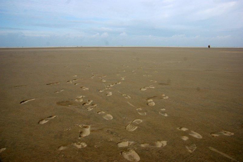 Enless beaches of Borkum