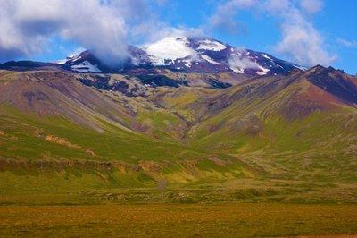Glacier Snaeffelsjokull, East Iceland