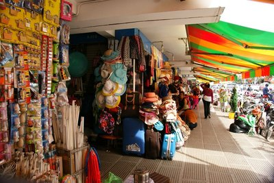 Colourful aisles of the Central Market