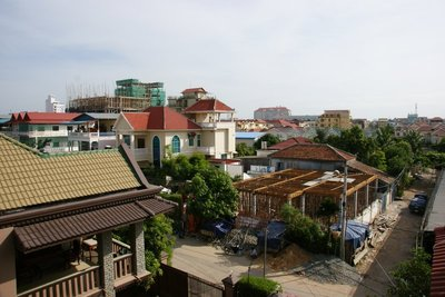 Rooftops from the Star Kampuchea office