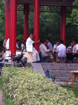 Mahjong players