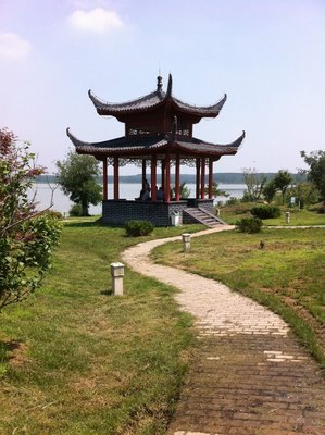 Pagoda at the resevoir