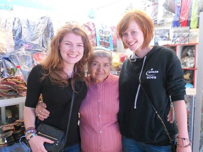 Hollie and Alice with the Cutest Woman Ever!