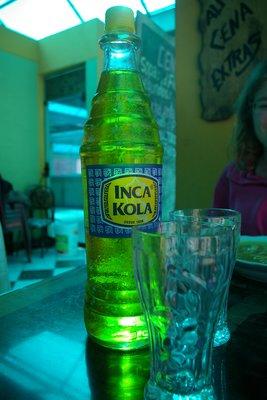 Inca Kola: Peru´s Irn Bru! Yum!