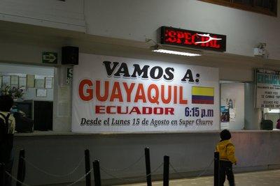 Lets go to Ecuador!!