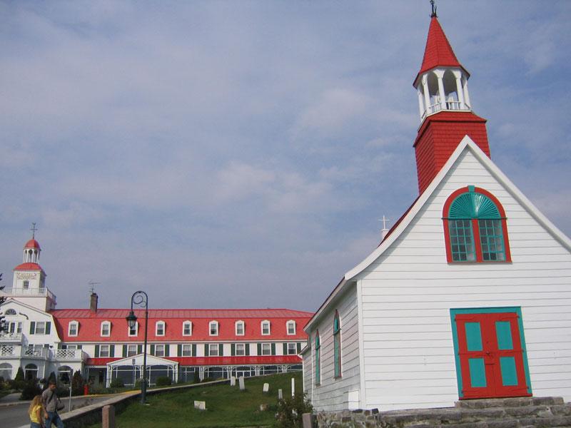 Tadoussac church