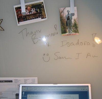 Thanks Isadora and Beerman!