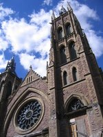 Old Montreal church
