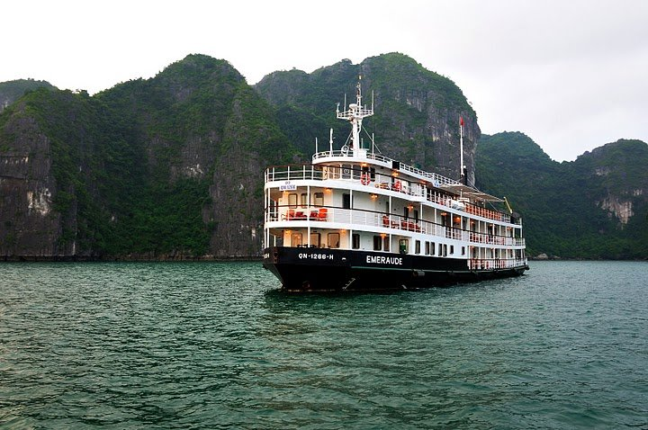 A Cruise in Halong Bay