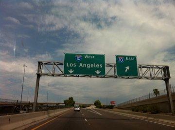 Heading to Los Angeles