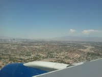 View of Vegas from the plane