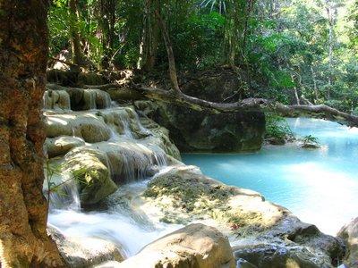 Erawan Waterfalls - Thailand