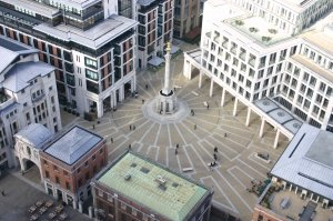 London plaza