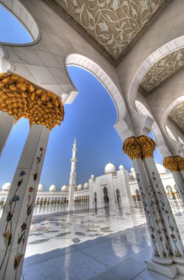 Sheik Zayed Grand Mosque 1