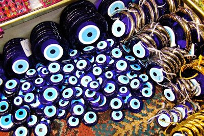 Amulets against evil eye