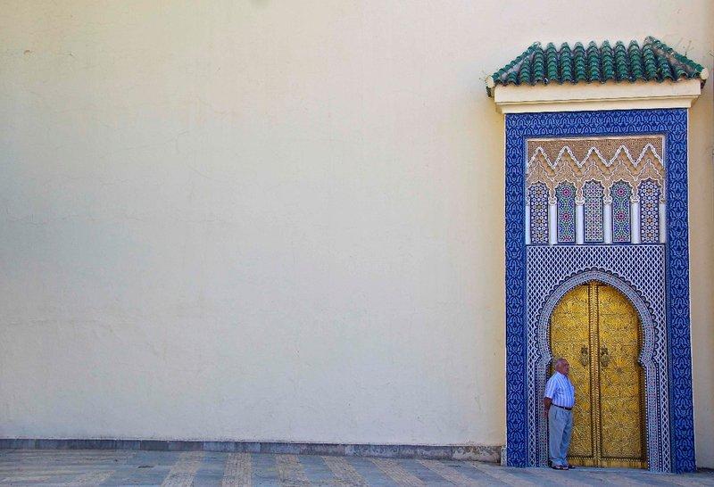 Fes royal Palace door